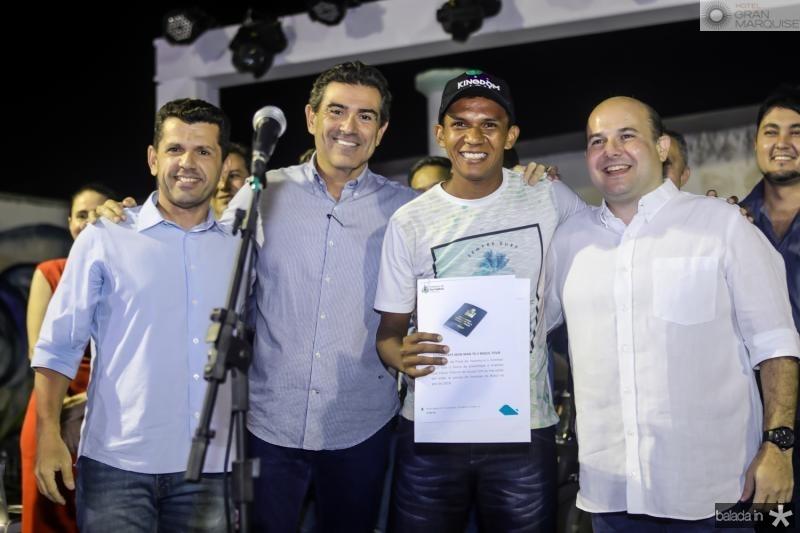 Erick Vasconcelos, Alexandre Pereira, Edson Venturino e Roberto Claudio