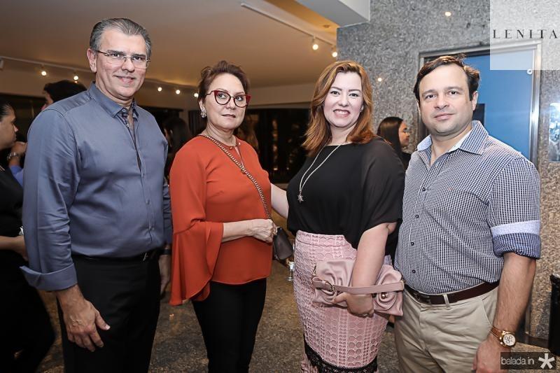 Randal Pompeu, Paula Frota, Aline e Igor Barroso