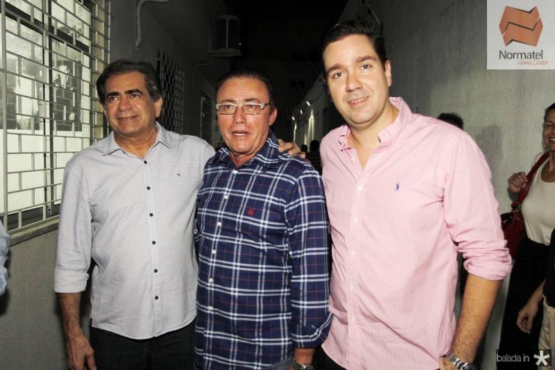 Zezinho Albuquerque, Darlan Leite e Eduardo Bismarck