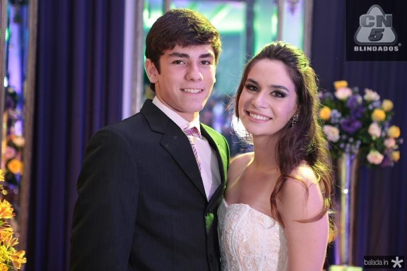 João Pedro Oliveira e Carol Albuquerque