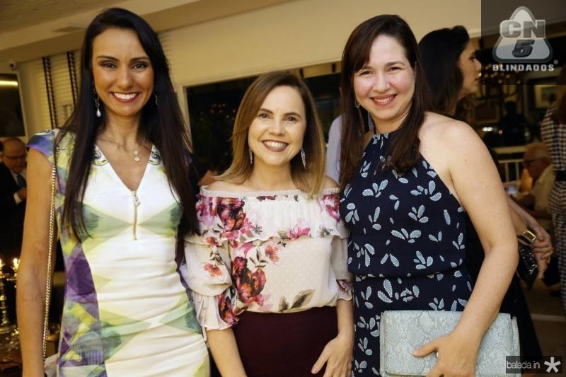 Isabel Cardoso, Gyna Juca e Fernanda Carvalho