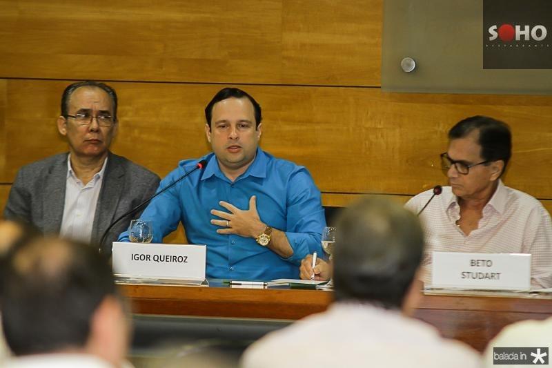 Francisco Teixeira, Igor Barros e Beto Studart