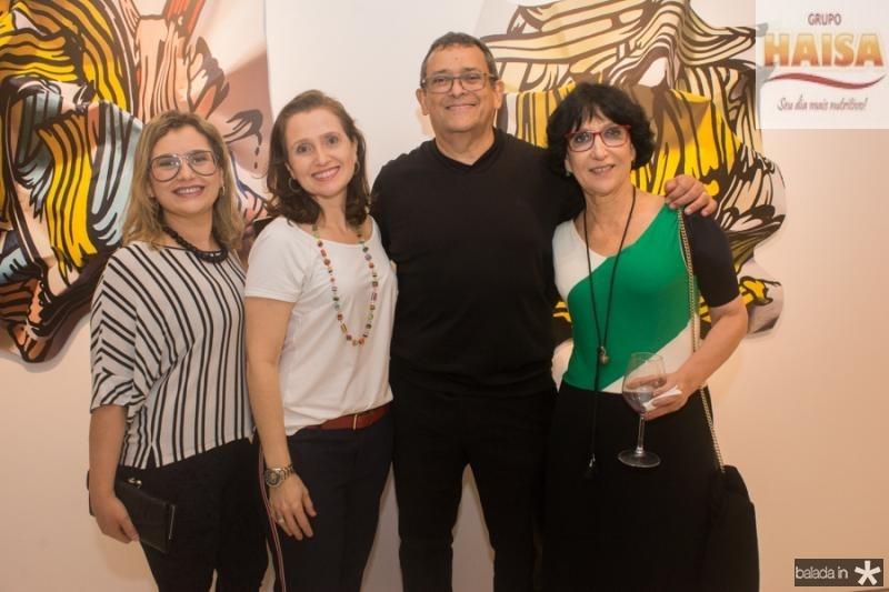Veridiana Brasileiro, Andreia Dallolio, Jose Guedes e Denise Mattar