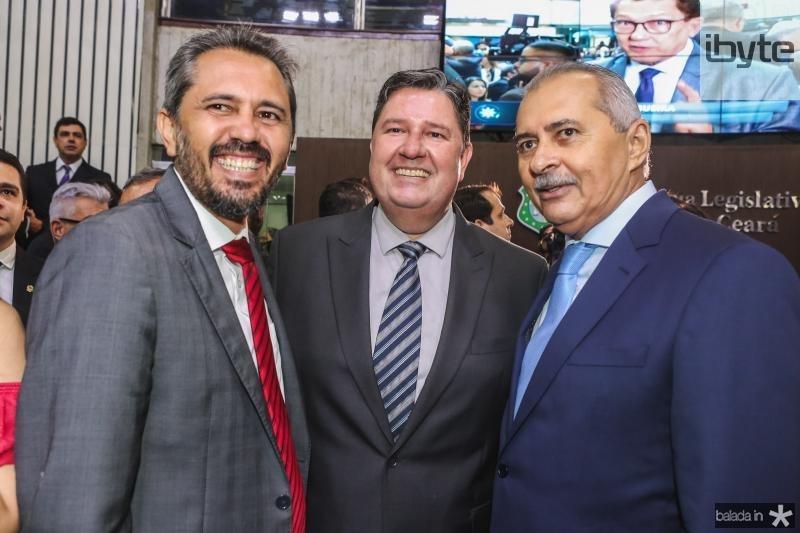 Eumano Freitas, Romeu Aldiguere e Zezinho Farias