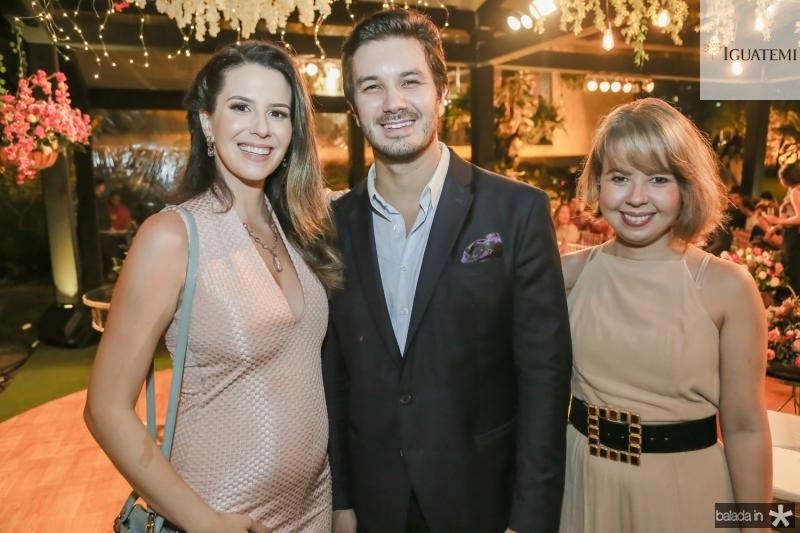 Natalia Viana, Levi Castelo Branco e Larissa Barbosa