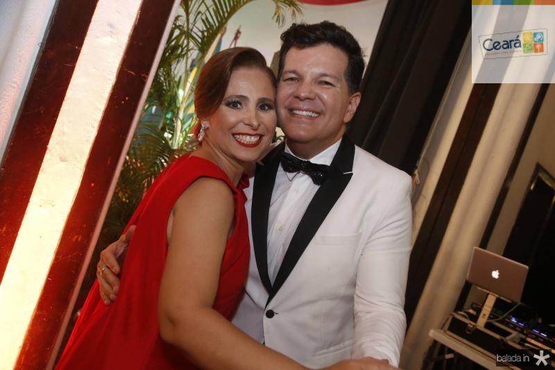 Samira Guimaraes e Gustavo Serpa