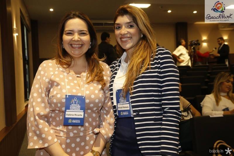 Valeria Estrela e Aricia Rafaela