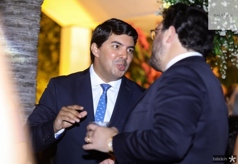 Geraldo Laprovitera e Alcimor Rocha