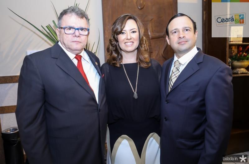 Juarez Leitao, Aline e Igor Barroso