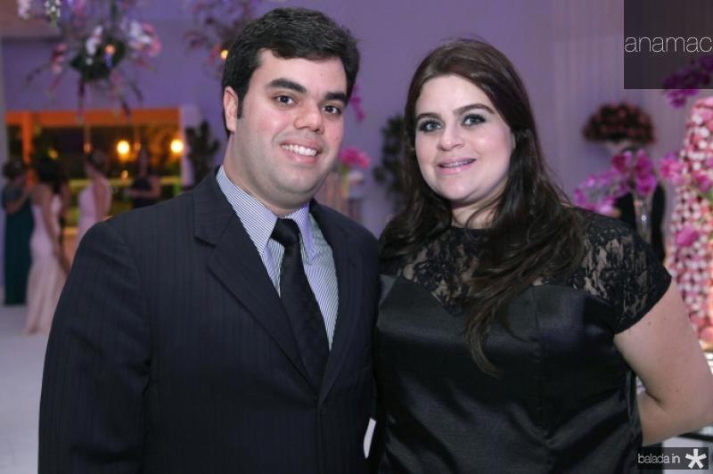 Serginho Esteves e Fernanda Teixeira