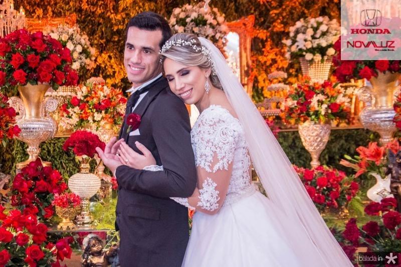 Antonio Airton Pontes e Jessica Dartora