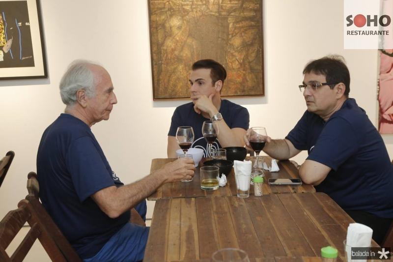 Jonny Wolff, Rodrigo Maia e Jonatan Machado