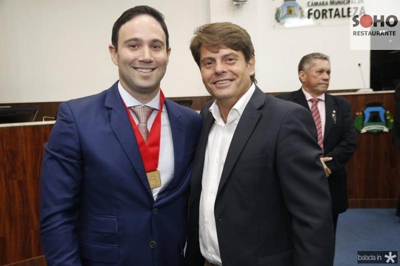 Thiago Asfor e Luiz Carlos Tome