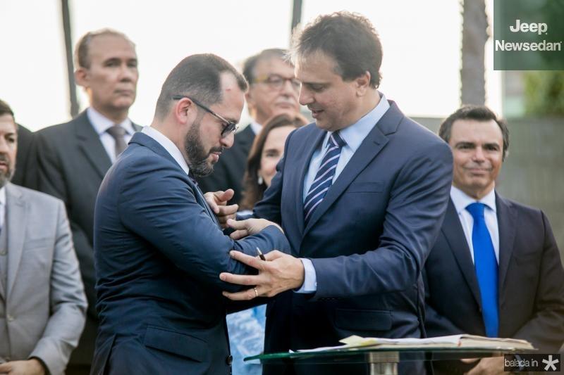 Andre Costa e Camilo Santana