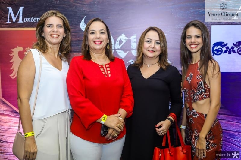 Marilia e Melina Barbosa, Cibelle Bandeira e Alice Vasconceos