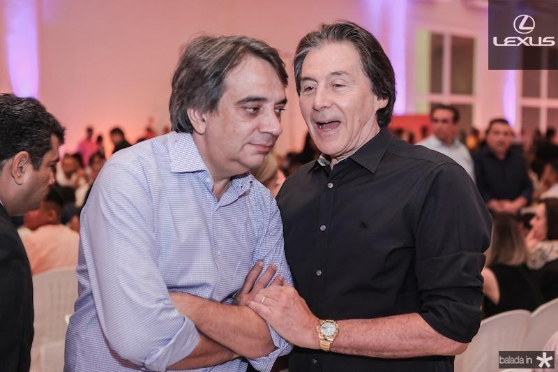 Carlos Gualter Lucena e Eunicio Oliveira