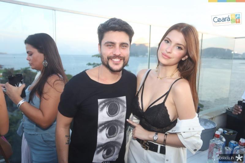Guilherme Leican e Bruna Altiere