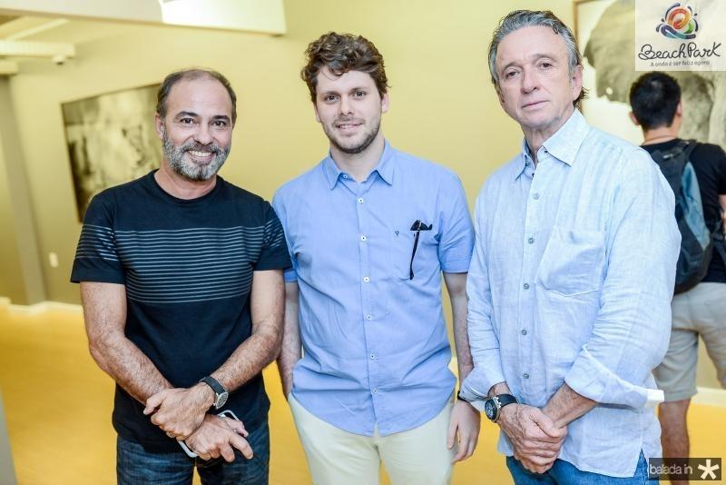 Marcus Novais, Victor Perlingeiro e Erivaldo Arrais