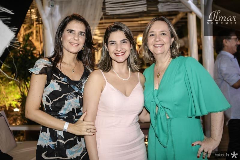 Rochele Martins, Samara Mile e Aline Feitosa