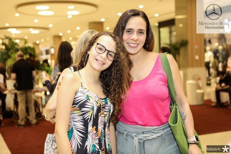 Stela e Raquel Pontes