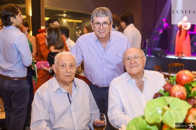 Adauto Bezerra, Marcio Tavora e Luis Marques