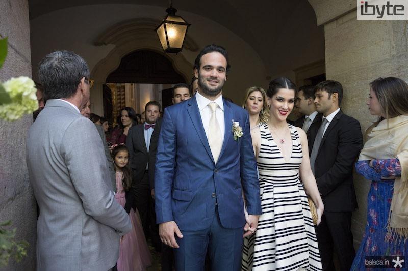 Lucas Asfor e Sara Brasil