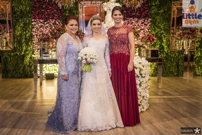 Meire, Diandra e Alexandra Alves