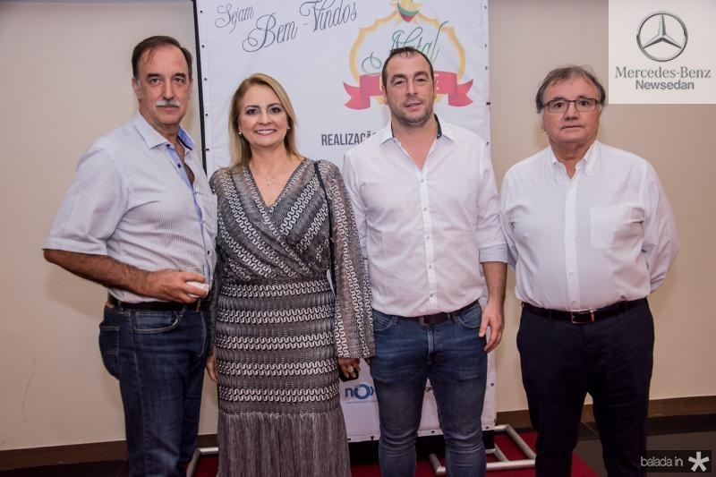 Armando Abreu, Ana Regia, Sergio Rebordao e Antonio Soares