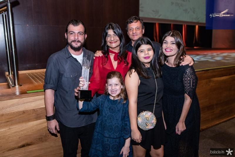 Ciro Gomes, Patricia Saboya, Maria Clara Saboya, Beatriz Mendes e Livia Saboya
