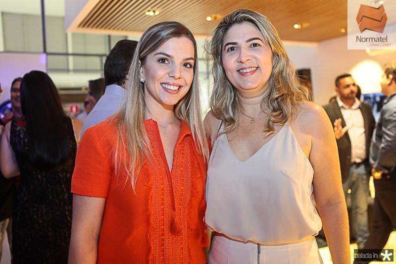 Luiza Coelho e Cristiane Pimenta