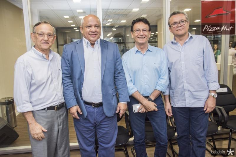 Fred Saboia, Pedro Alfredo, Francilio Dourado e Eulalio Costa