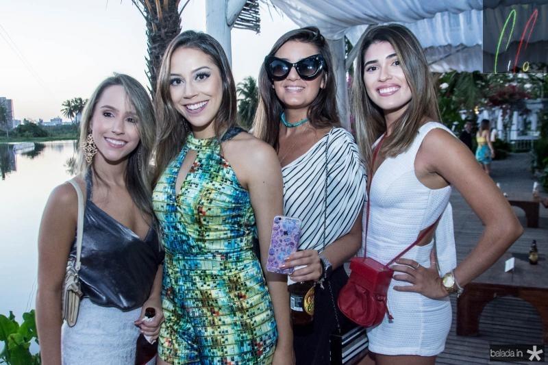 Ana Paula Andrade, Renata Saldanha, Roberta Borges e Gabriela Carneiro