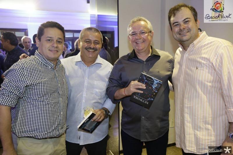 Leopoldo Albuquerque, Emilio Studart, Paulo Coelho e Luiz Girao
