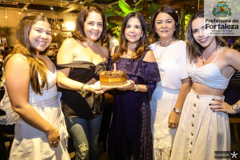 Maria Clara Negrao, Giana Studart, Maria Lucia Negrao, Giana Studart e Nicole Vasconcelos