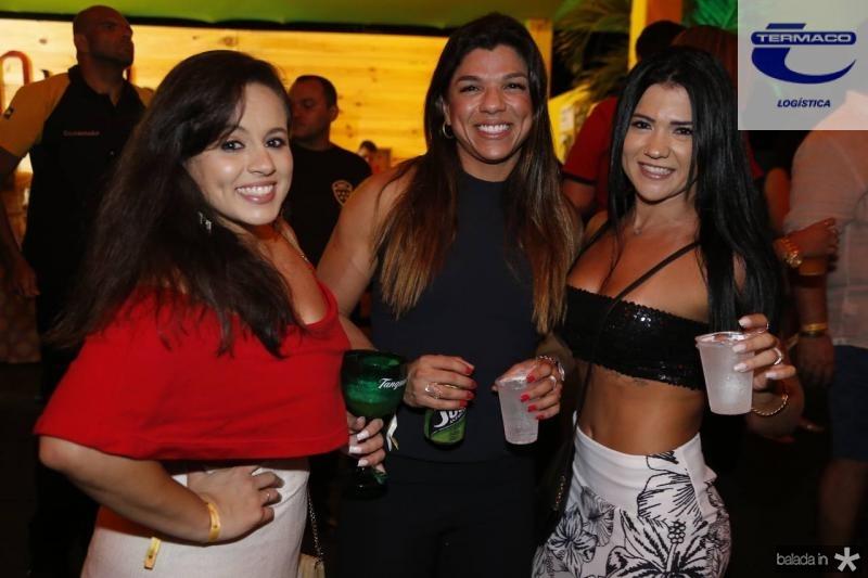 Kersia Montezuma, Talita Almeida e Juliana Lima