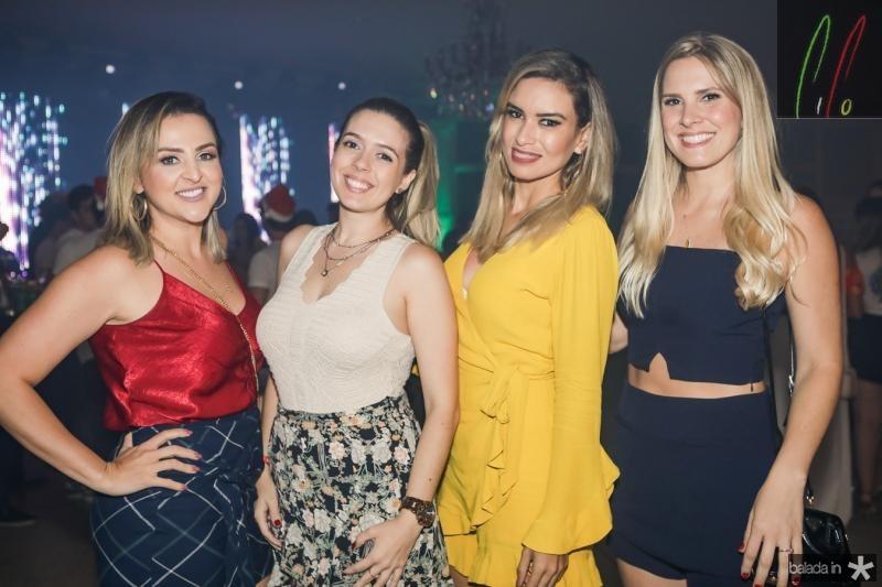 Giana Cunha, Virna Furtado, Virginia Evangelista e Rafaela Bastos