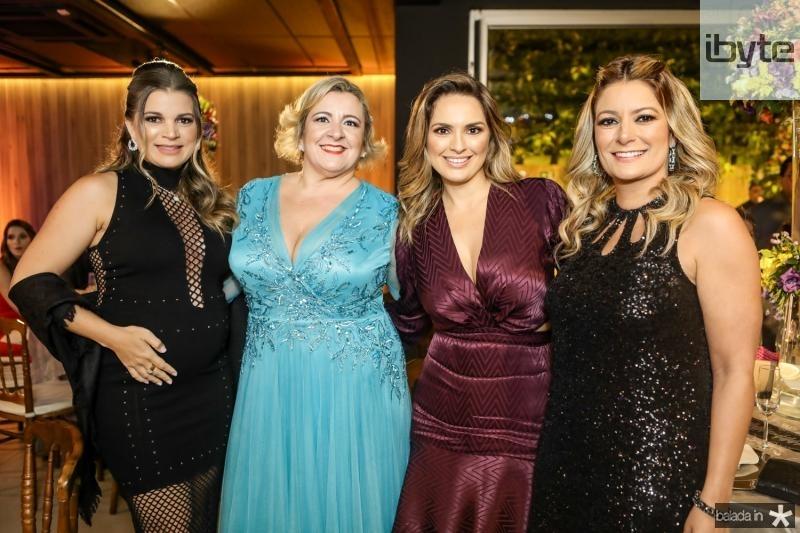 Kamila Monteiro, Cecilia Portela, Mirna Paz e Tatiana Luna