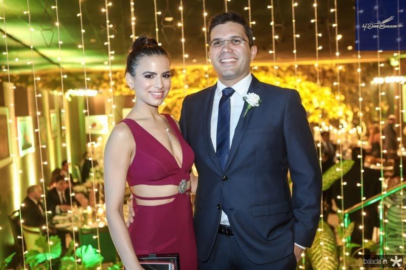 Manoela Cidrao e Pedro Lima