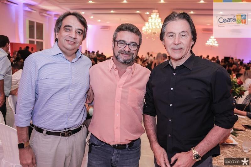 Carlos Gualter Lucena, Sirval Mateus e Eunicio Oliveira