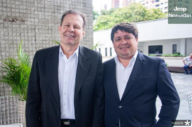 Julio Ventura e George Lima