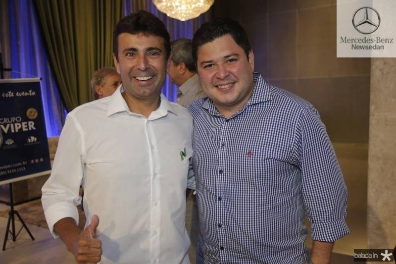 Marcos Novaes e Eriberto Moraes