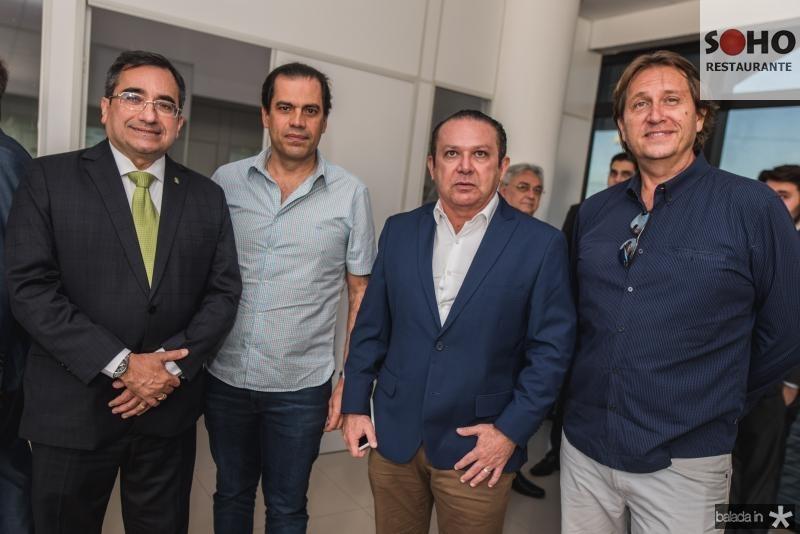 Jardson Cruz, Etevaldo Nogueira, Max Bezerra e Philip Brookes