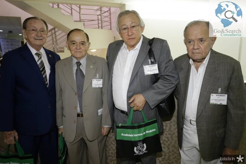 Iran Rabelo, Djacir Figueiredo, Carlos Ciarline e Pedro Henrique Saraiva Leao