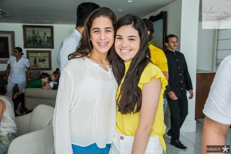 Isabel Otoch e Beatrice Vasconcelos