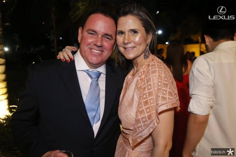 Marcelo e Camille Cidrao