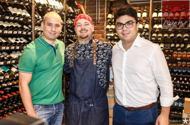 Andre Linheiro, Ralfo Ifanger e Rolf Campos