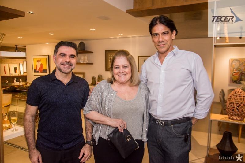 Isaac Furtado, Isabel Figueiredo e Wilson Loureiro