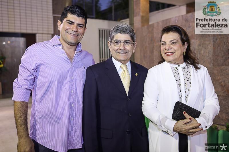 Americo, Jose Augusto e Bernadeth Bezerra