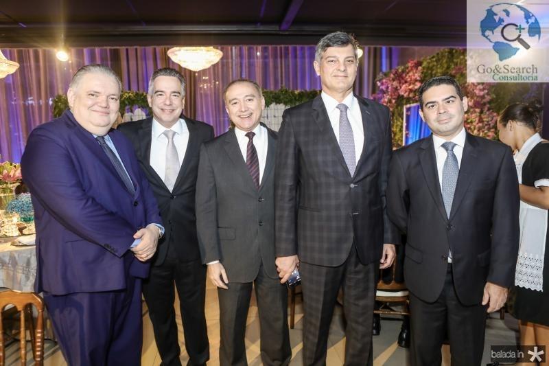 Pedro Jorge Medeiros, Rocha Neto, Ricardo Porto, Cid Marconi e Bruno Carra
