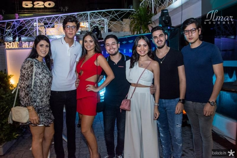 Fernanda Sousa, Rafael Oliveira, Mariana Vieira, Olavo Barros, Lygia duarte Igor Aragao e Everton Barros